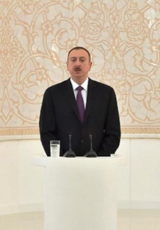 Ilham Eliyev mescid